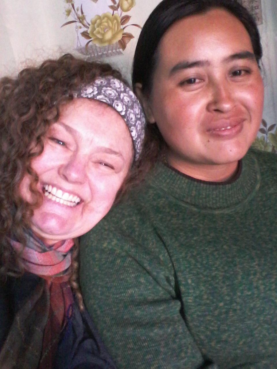Dionne and Stephen's wife, Ne-I-Pew
