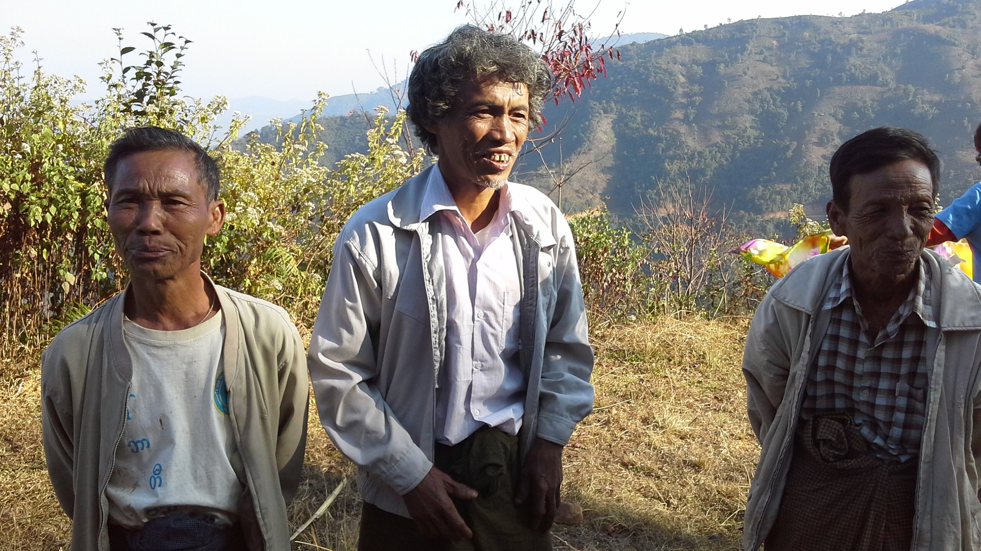 Three village elders